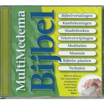 Cd-rom multimedemabijbel 5.0