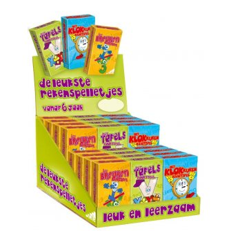 Display rekenspelletjes 24 ex.