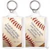 I can do all things - Baseball - Sports keyring 4,5 x 7 cm