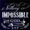 For nothing is impossible - Chalk