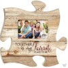 Together is my favorite place to be - Photo frame Puzzle Piece
