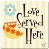 Lover served here