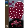 Glitter Collection Bible Pink Heart - Flexicover