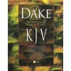 Dake Annotated Reference Bible - Large Note Black - Bonded Leather