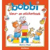 Bobbi kleur- en stickerboek