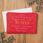 Names of Jesus - 18 cards : Christmas boxed cards, 081983622885
