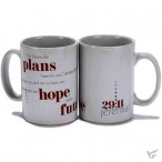For I know the plans - Jeremiah 29:11 :   Mug - 475 ml, 603799516716