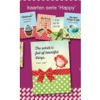 Puur! kaartenset serie 2 Happy