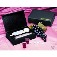 In Remberance Portable Communion Set (black)