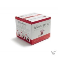 Communion Fellowship Cup 25x (Prefilled Juice & Wafer)