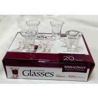 Communion glasses - 20 pieces