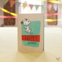 My Happy Journal - Peanuts 17,5 x 12,5 cm