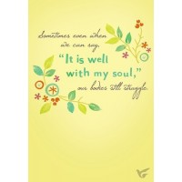 It is well with my soul (Praying for you - 6 pieces)