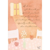 If I were right there with you (Encouragement - 6 pieces)