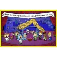 Glory to God - Peanuts (Christmas Boxed Cards - 18 Pieces)