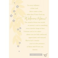 Welcome Home (Sympathy - 6 pieces)