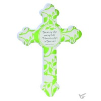 Hope - Green - Resin cross