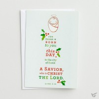 For there is born to you - 18 cards