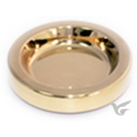 Communion breadplate insert gold