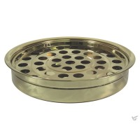 Communion tray 40 holes gold