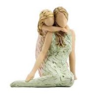 Figurine like mother like daughter 25cm :   , 5060083429018