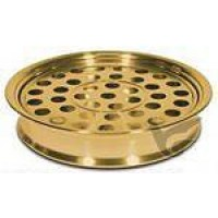 Cup tray 40 cups roestvrij staal goudkl