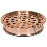 Cup tray 40 cups roestvrij staal koper