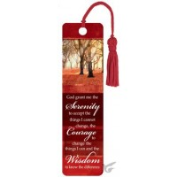 Serenity : Bookmark with tassel, 6006937090859
