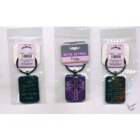 Purple Cross - Keyring (set of 3)