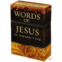 Boxes Of Blessings - 50 Cards - 65x25x94mm Words of Jesus - 50 Karten in Box
