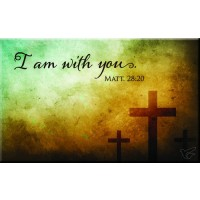 I am with you - Magnet 80 x 50 mm