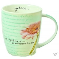 His Grace is sufficient for me :   Mug - 390 ml, 6006937115262
