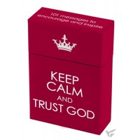 Keep calm and Trust God :   Boxes of blessings - 50 cards, 6006937117631