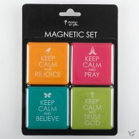 Keep calm - Set of 4 magnets