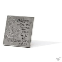 A Musician's Prayer - Wall and Tabletop Decor - 8,9 cm (3 pieces)