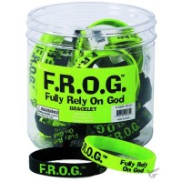 F.R.O.G. - Silicone Bracelet Assorted Colors
