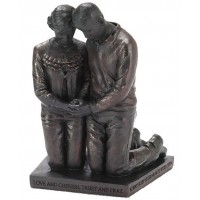 Praying Couple :   Sculpture 14 cm - Called to pray, 603799523806