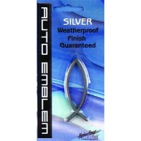Open Fish - Silver - Small