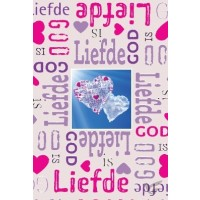 Minikaart God is Liefde