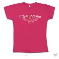 With All My Heart - Ladies Cut ( T-Shirt :   T-Shirt, 612978246221