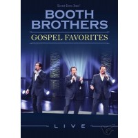 Gospel Favorites Live (DVD) : The Booth Brothers, 617884932992