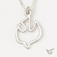 Dove (Sterling Silver necklace)