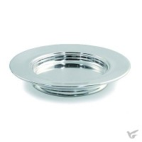 Polished Aluminium Stacking Bread Plate 10'' Diameter
