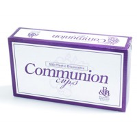 Communion Cups (500Plastic Disposable Cu : Communion  Ware, 9780805469615