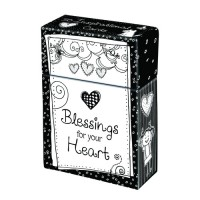 Blessings for your Heart :   Boxes of blessings - 50 cards, 6006937107595