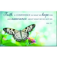 Faith Hope Assurance - Magnet 80 x 50 mm