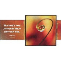 The Lord's love surrounds those who trus :   Woodplock, 603799445795