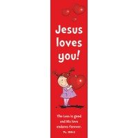 Jesus loves you! (10 Bookmarks) - 148x40mm