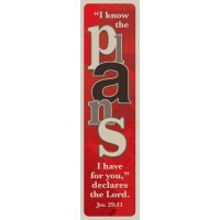 I know the plans (10 Bookmarks) - 148x40mm