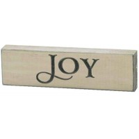 Joy- Engraved Wall Sign - 15 x 4,5 cm